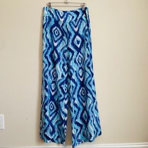 Lilly Pulitzer silk pants